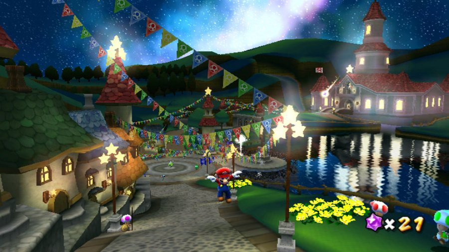 Super Mario Galaxy Review - Screenshot 2 of 4