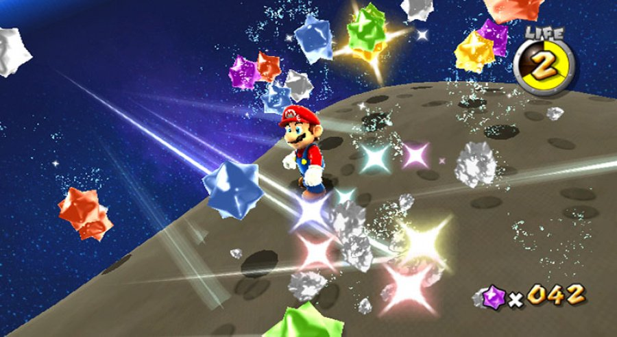Super Mario Galaxy Review - Screenshot 3 of 4