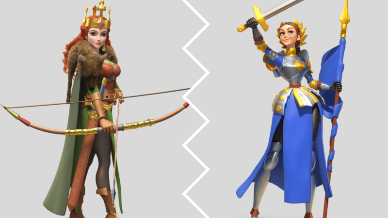 best f2p open field commander pairing aethelflaed and joan of arc
