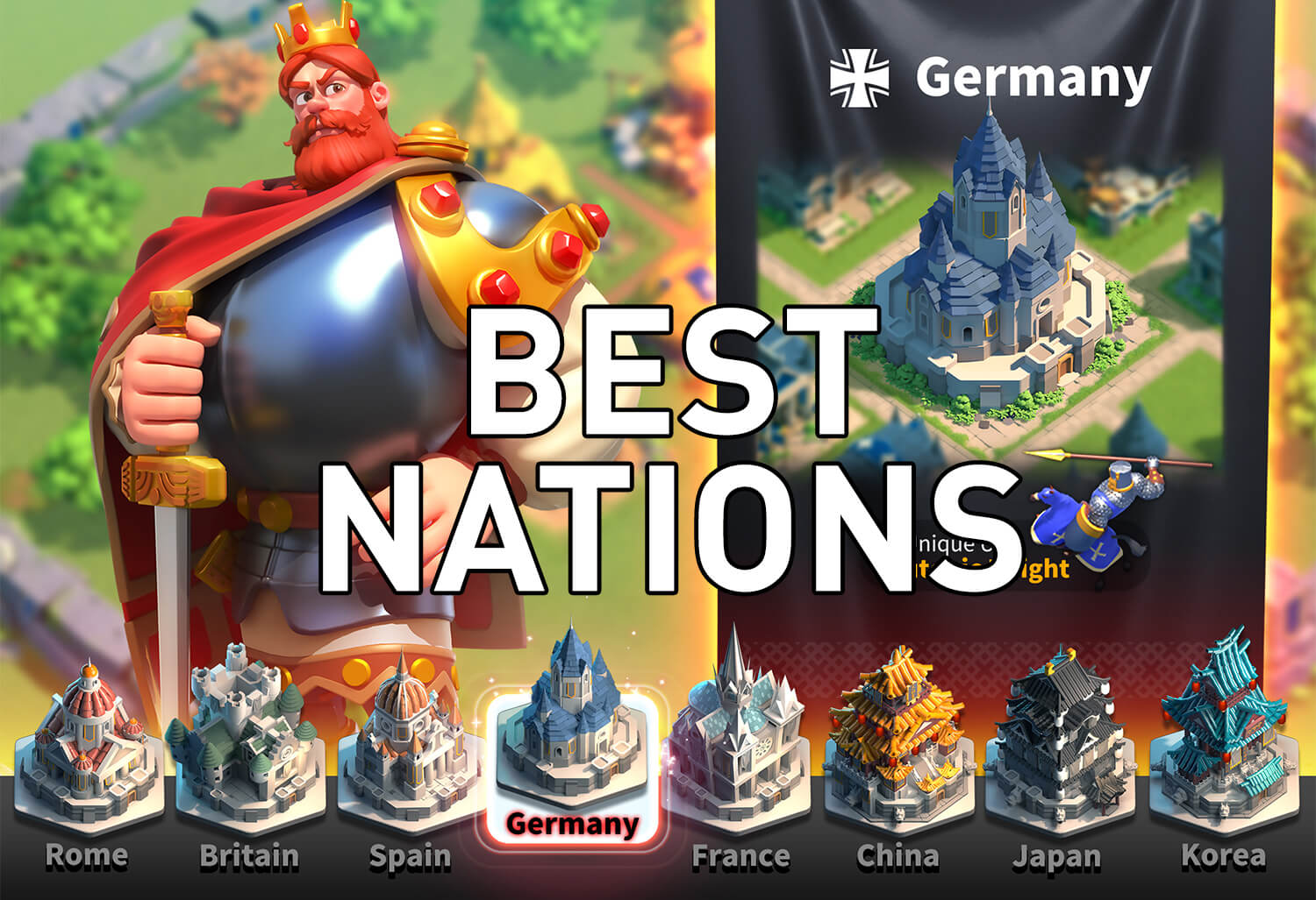 best civilizations in rise of kingdoms