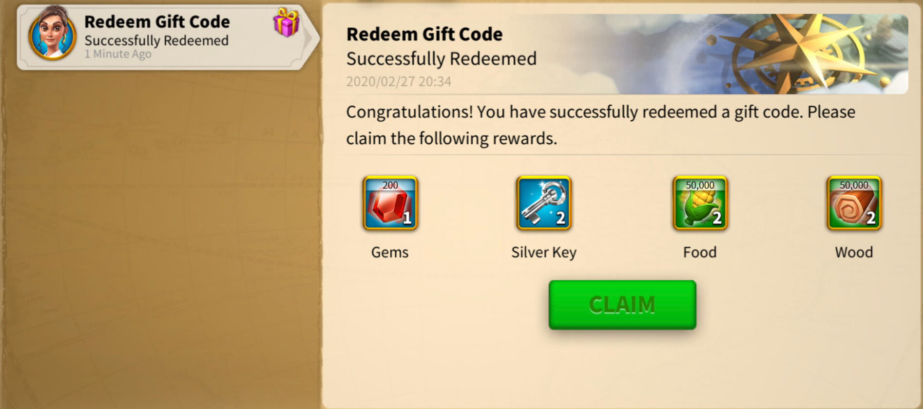 rise of kingdoms redeem gift code
