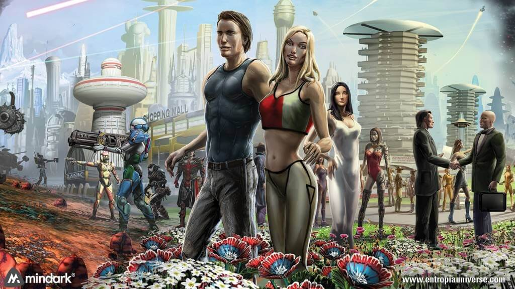 Entropia Universe how can you earn money by playing online