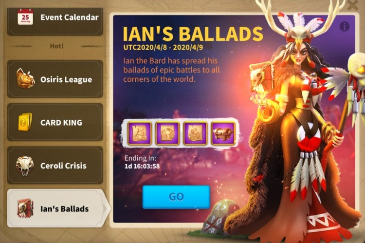 Ians Ballads Guide Guide Rise of Kingdoms