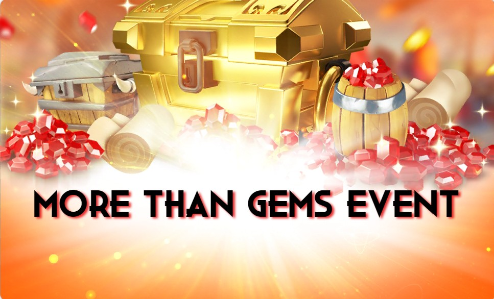 More than gems event