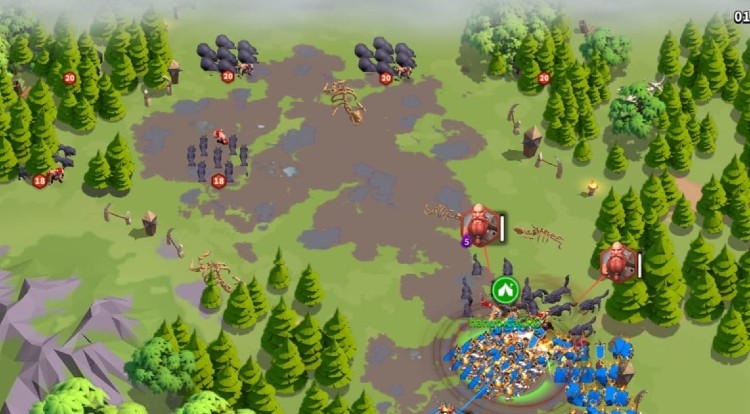 Rise of Kingdoms Ians Ballads normal troops