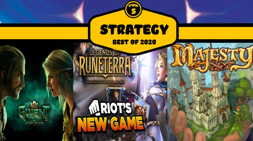 top5 mobile strategy games