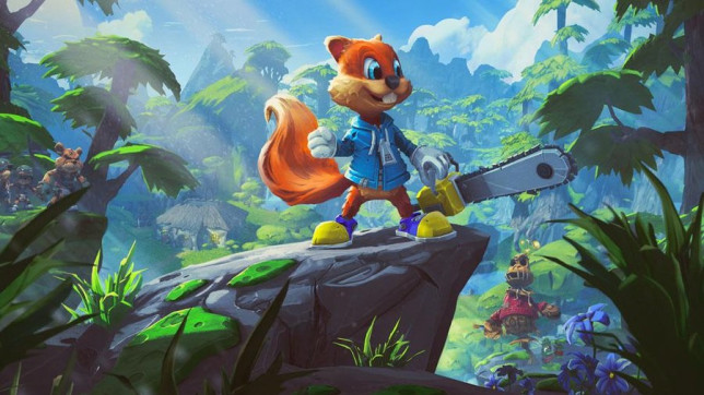 Conker in Project Spark Rare