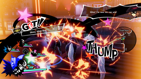 Persona 5 Strikers screenshot