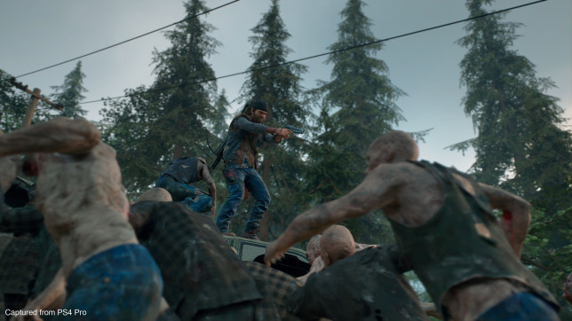 Days Gone (PS4) - bikers vs. zombies
