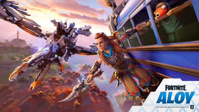 Fortnite with Aloy