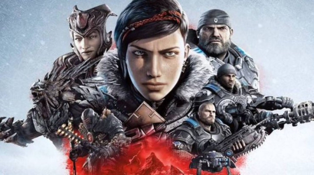 Gears 5 key art