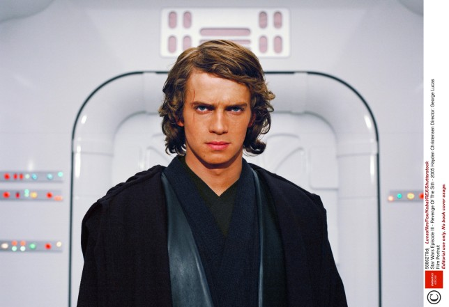 Editorial use only. No book cover usage. Mandatory Credit: Photo by Lucasfilm/Fox/Kobal/REX/Shutterstock (5886270dj) Hayden Christensen Star Wars Episode III - Revenge Of The Sith - 2005 Director: George Lucas Lucasfilm/20th Century Fox USA Film Portrait Scifi Star wars: Episode III - La revanche des sith