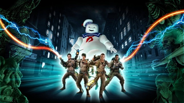 Ghostbusters: The Video Game Remastered key art